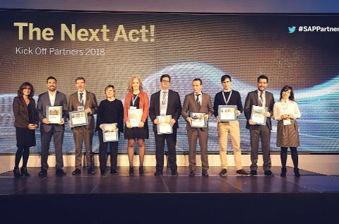 Premiados del canal de SAP en 2017.