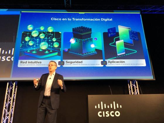 Intervención de José Manuel Petisco, director general de Cisco España, en Cisco Live 2018.