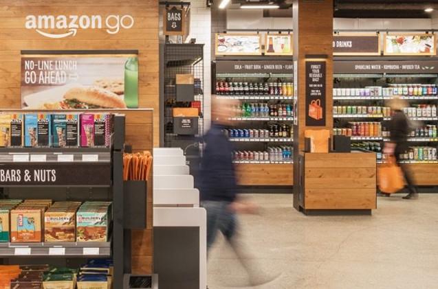 Imágenes del supermercado sin cajeros Amazon Go