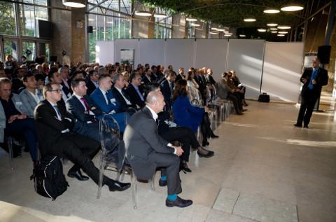 Fiesta de premios del canal de Xerox en 2018.
