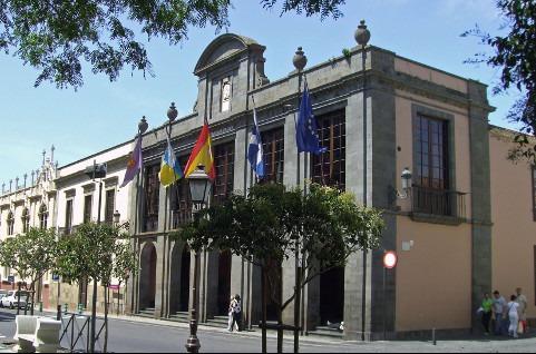 Ayuntamiento de La Laguna, en Tenerife.