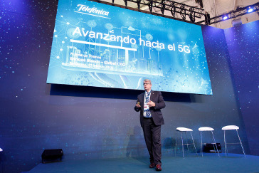 Presentación estrategia network slicing de Telefónica en MWC
