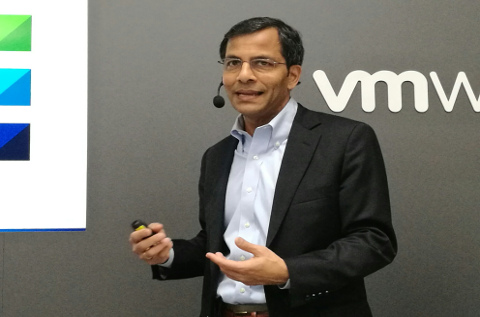 Shekar Ayyar, vicepresidente senior de VMware y responsable del negocio de operadoras