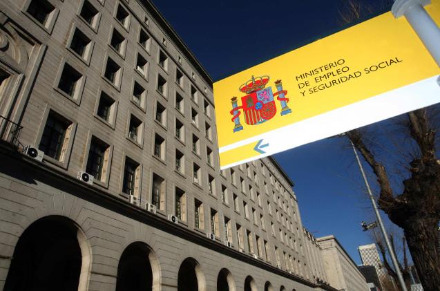 Edificio ministerial, en Madrid.