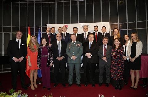 Image de los galardonados durante la edición del pasado año de los Premios Autelsi