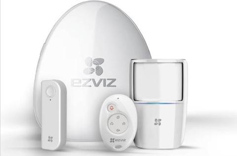 Gama de videovigilancia de Ezviz.