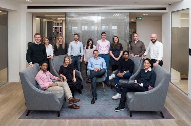 El equipo de Eight Road Ventures
