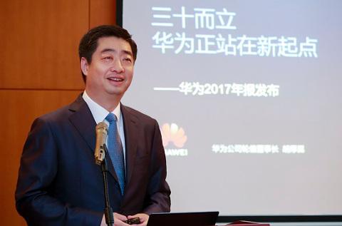 Ken Hu, CEO rotatorio de Huawei.