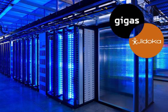 Novayre desplegará y gestionará sus robots software Jidoka en la nube de Gigas