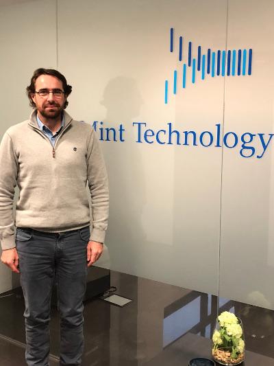 Valentín Elizondo, socio de la delegación de Navarra de Mint Technology Cloud.