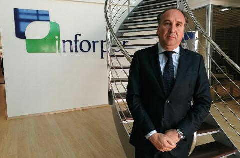 Ramón Martí, en las instalaciones de Inforpor.