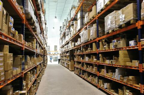 Almacén de consumibles de Inforpor en Albacete.