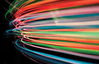 Las dos velocidades de la red móvil en España.