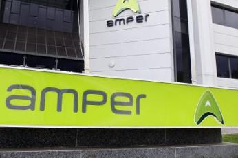 Amper comienza el año superando los 4 millones de beneficio.
