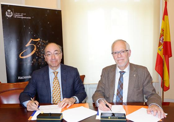 El COIT renueva su colaboración con Teldat