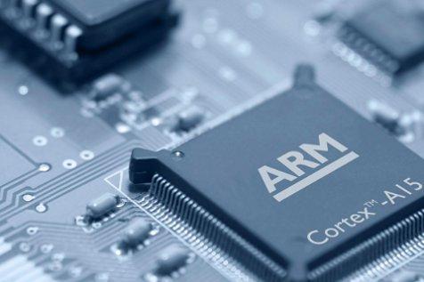 Chip con arquitectura de ARM.