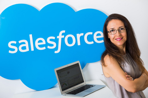 Ana Vertedor, responsable de alianzas de Salesforce.