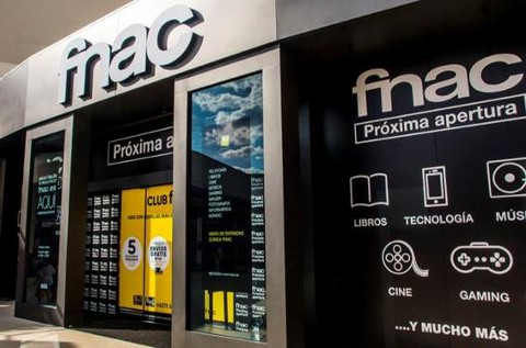 Tienda de Fnac en Valencia.