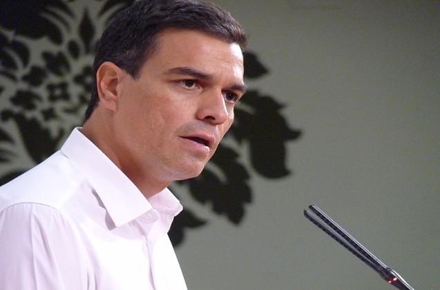 Pedro Sánchez, Presidente del Gobierno y dirigente socialista.