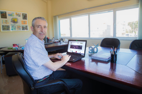 Juanjo Contell, fundador de Infortisa.