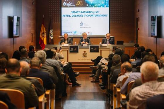 """El COIT organiza la jornada de trabajo: """"Smart Railways y 5G: Retos, desafíos y oportunidades"""""""