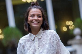 Leïla Bouguetaia, directora comercial de Diabolocom en España.