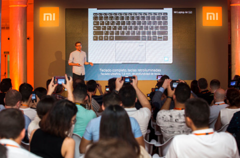 Presentación en Madrid del Xiaomi Mi Laptop 13.
