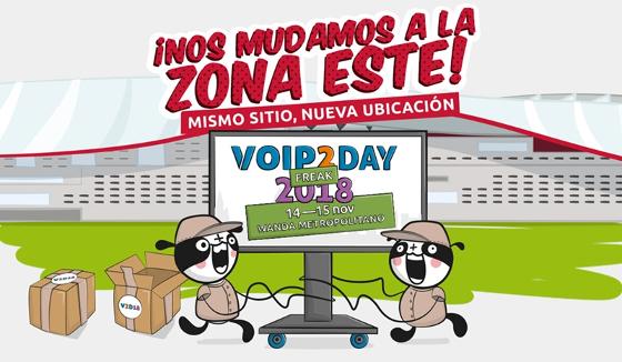Lo último en telefonía IP y comunicaciones unificadas en VoIP2DAY 2018