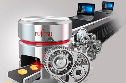 Campaña promocional Perkies de Fujitsu.
