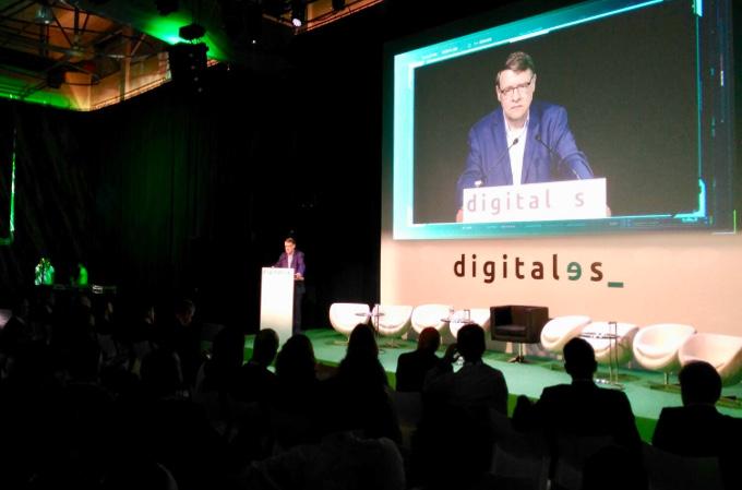 Jordi Sevilla clausura Digitales Summit 2018.