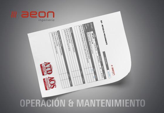 Certificación en Operación y Mantenimiento de AEON Ingeniería.