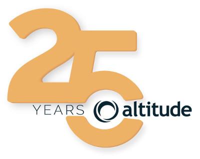 Altitude Software celebra su 25 aniversario.