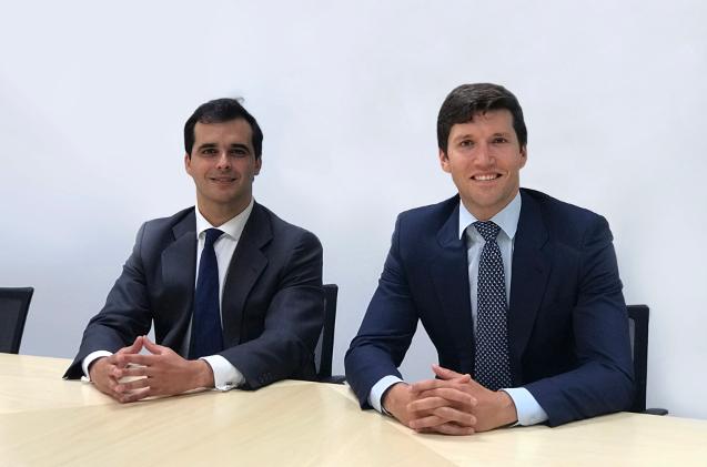 Igor de la Sota y Gonzalo Martínez de Azagra, cofundadores de Cardumen Capital.