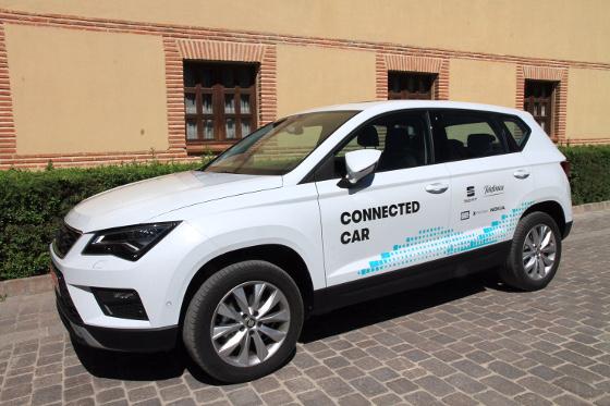 Primer caso de conducción asistida a través de una red móvil en un entorno real España