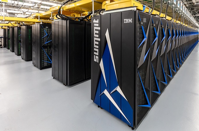 Summit se encuentra en el Laboratorio Nacional Oak Ridge (ORNL) del Departamento de Energía