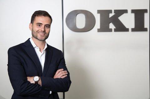 Tiago Caldas, director de ventas para Iberia de Oki Europe Limited