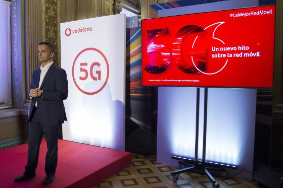Vodafone despliega los primeros nodos 5G NSA en seis ciudades españolas.