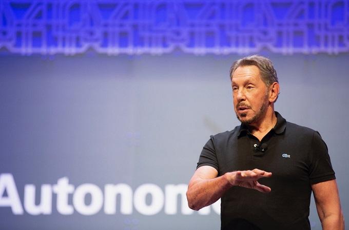 Larry Ellison, director ejecutivo y CTO de Oracle