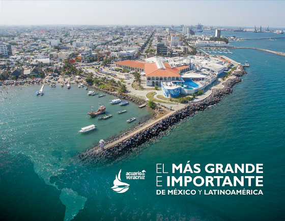 El Acuario de Veracruz abrió sus puertas al turismo nacional e internacional el 13 de noviembre de 1992