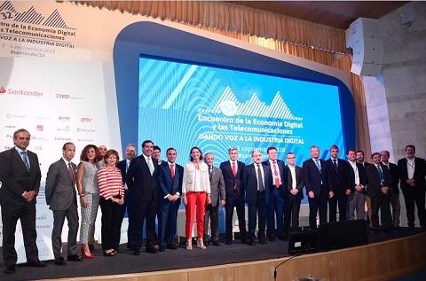 Encuentro en Santander de Ametic 2018.