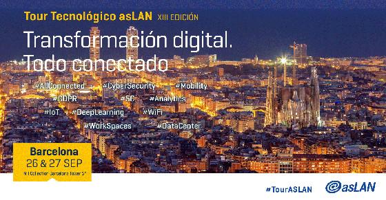 Barcelona acogerá el primer Foro del Tour Tecnológico @asLAN 2018