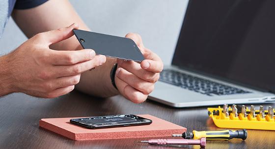 Rotura de pantalla, principal avería de los smartphones en las empresas