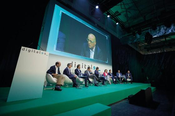Principales actores del sector TI en España en Digitales Summit 2018.