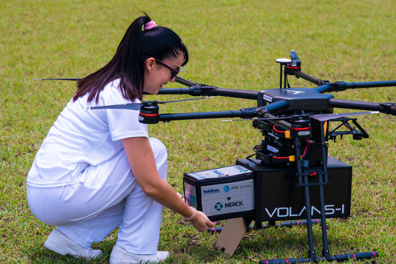 Caso de uso IoT: entrega de medicamentos en drones