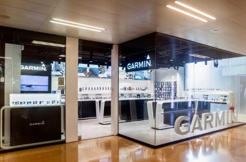 Tienda de Garmin en Barcelona.