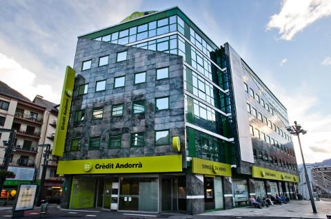 Sede central de Credit Andorra.