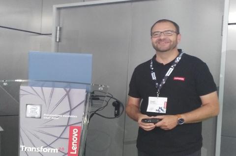 Ángel Ruiz López, director de Lenovo DCG