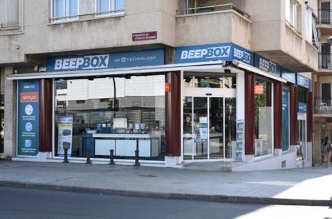 Tienda de la cadena BeepBox.