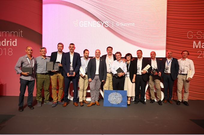 Congreso G-Summit Madrid. Premios Clientes y Partners 2018