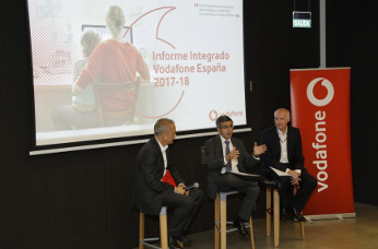 Presentación Informe Integrado 2017-18 de Vodafone.